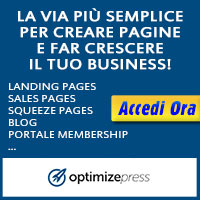 OptimizePress, il miglior creatore di temi, squeeze pages e landing pages.