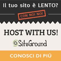 siteground, l'hosting web più veloce.