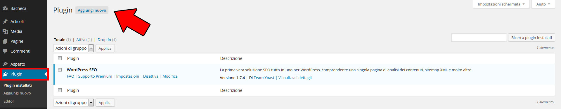 Come installare i plugin di WordPress
