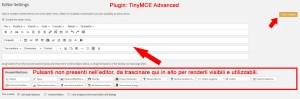 TinyMCE Advanced, come aggiungere i pulsanti e rendere visibili le funzioni nell'editor di WordPress.