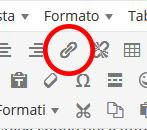 Come inserire un collegamento ipertestuale su wordpress
