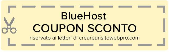 coupon bluehost hosting veloce