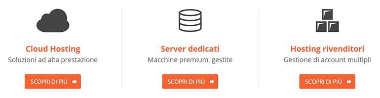 cloud hosting server dedicati hosting rivenditori