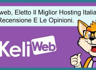 Keliweb Hosting Recensione Thumbnail