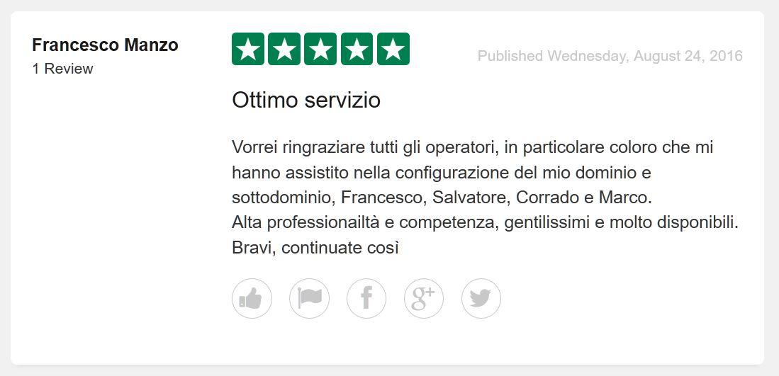 Recensione Keliweb hosting italiano migliore