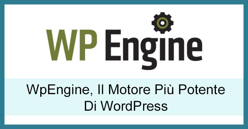WpEngine Hosting Recensione