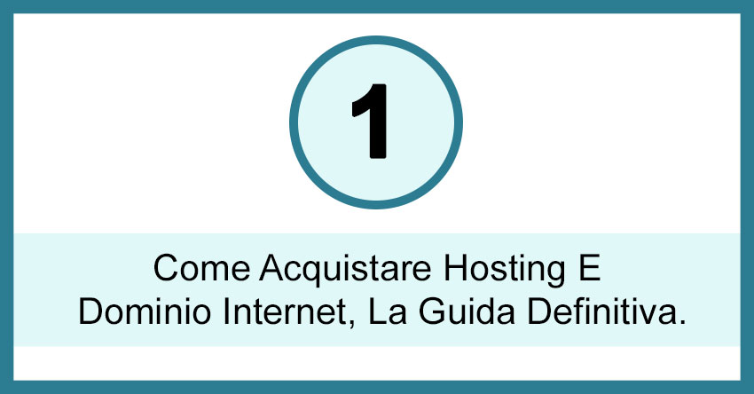 come acquistare hosting e dominio internet