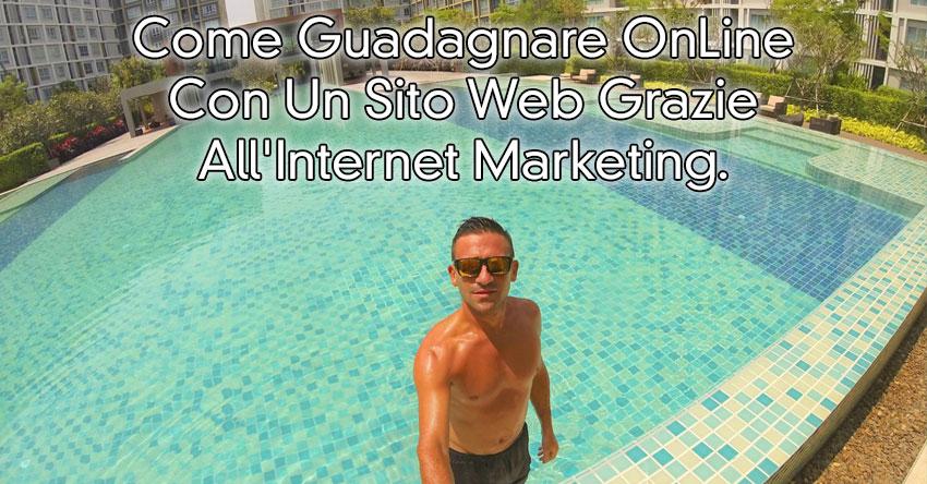come guadagnare online con un sito web internet marketing