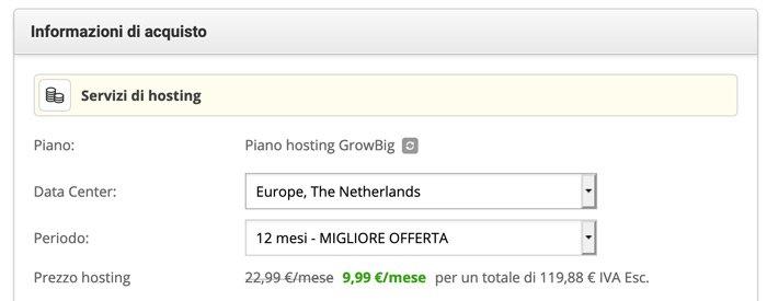 scelta data center siteground europa