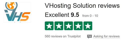 vhosting recensione trustpilot