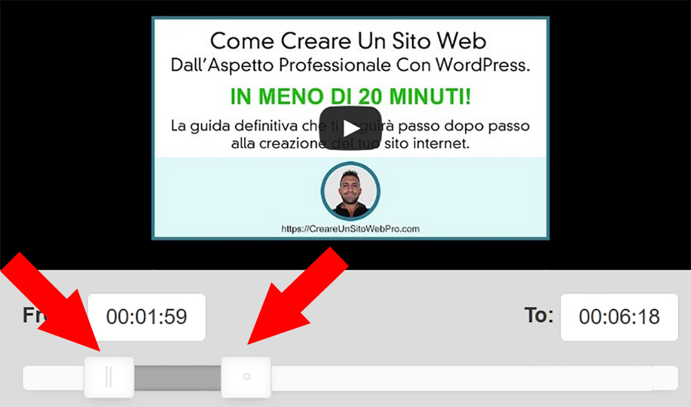 come scaricare parti di video da youtube