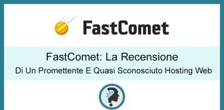 fastcome hosting recensione