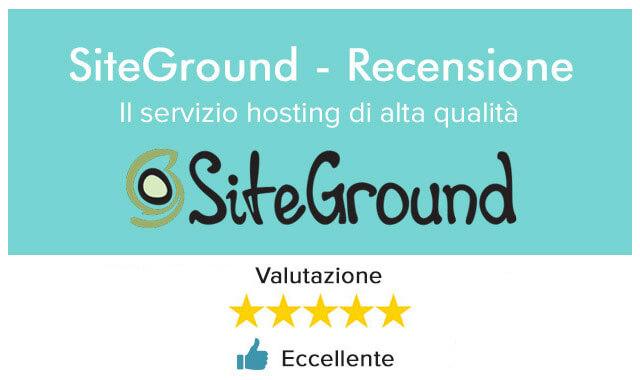 Recensione SiteGround il miglior hosting wordpress